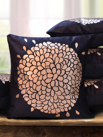 Black and Gold Classic Cushion Cover