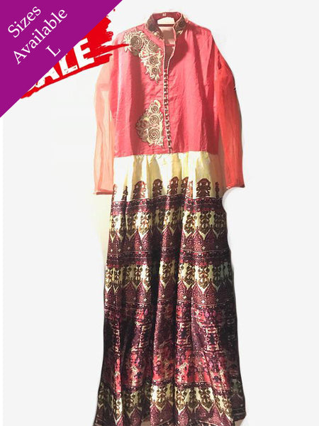 Designer Multi Color Anarkali Suit