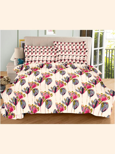 Classic Floral Bed Sheet