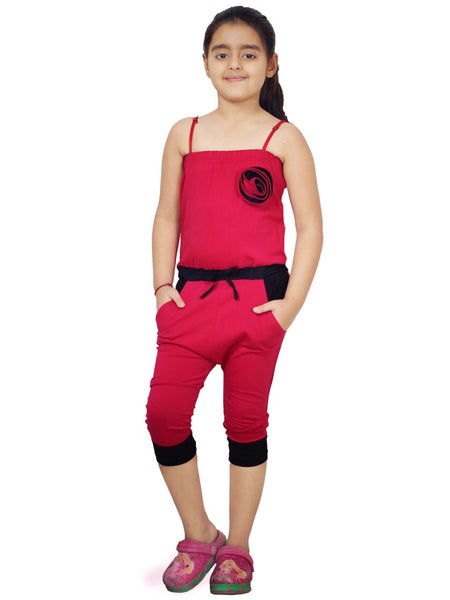 Red Jumpsuit for Girls
