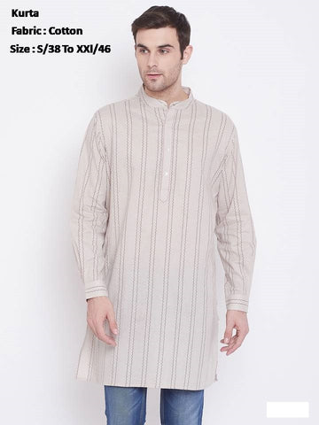 Men's Ethnic Cotton Kurta
