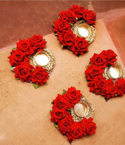 Tealight Candle Holder For Pooja Home Decoration