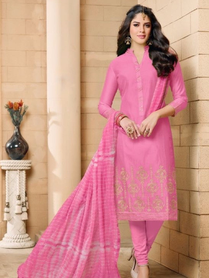 Taffy Pink Straight Cut Suit