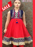 Red and Blue Kids dress