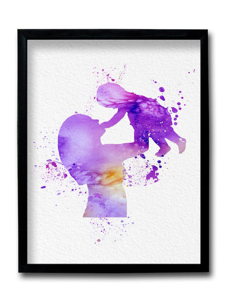 Mother and Child Framed Art