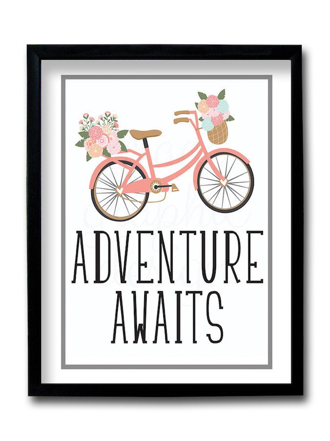 Adventure Awaits Framed Art