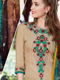 Exotic Brown straight cut suit - PurpleTulsi.com