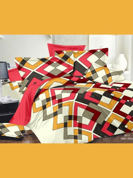 Beautiful Multicolour Bedsheet
