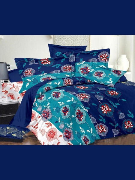 Shades of Blue Bedsheet