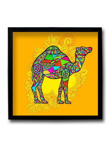 Camel Pop Art Framed Art