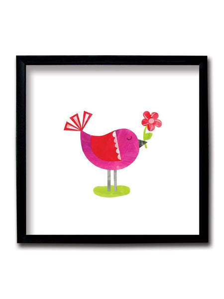 Cute Bird Framed Art