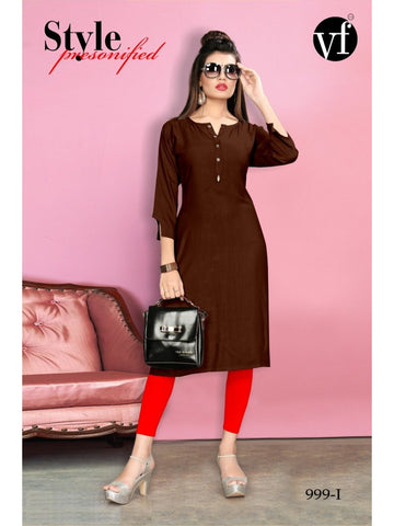 Designer and Beautiful Straight Cut Kurti