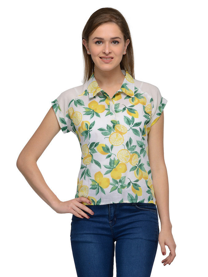 Beautiful Floral Fashion Top