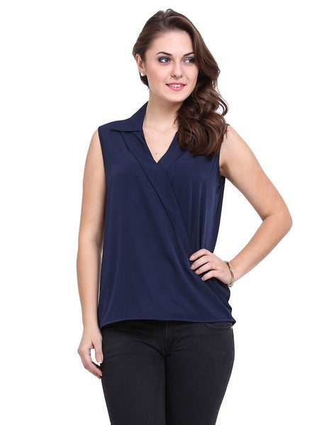 Indigo Blue Fashion Top