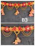 Traditional Multicolour Handmade Bandarwal/Toran For Door