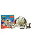 Steel Laser Chhota Bheem Star Plate Baby set-Pack of 4