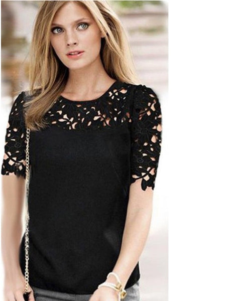 Trendy Black Fashion Top