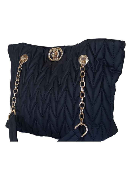 Black fashion bag - PurpleTulsi.com  - 1