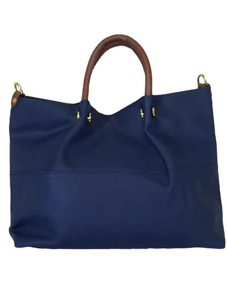 Blue premium pure leather bag - PurpleTulsi.com  - 1