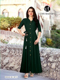 Designer and Beautiful Straight Cut Kurti and Gown