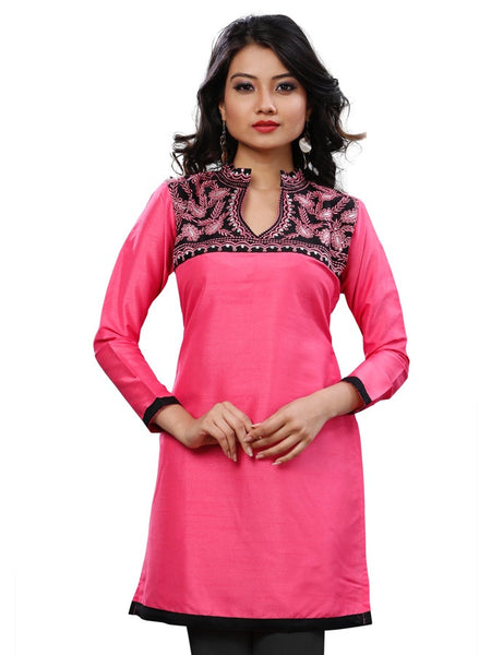Beautiful Pink Design Kurti