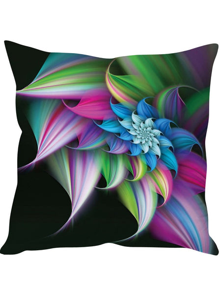 Floral Multicolour Designer Cushion Cover