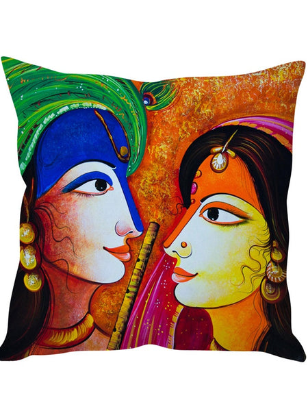 Ethnic Beauty Designer Cushion Cover