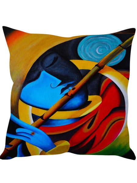 Pack of 5 Colour Enigma Designer Cushion Covers