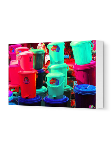 The Bins Canvas Art Print