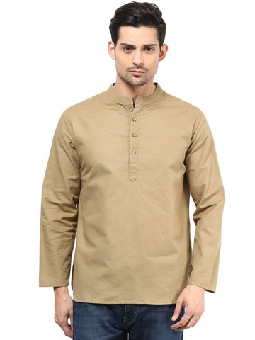 Men's Ethinc Short  BrownColor Kurta