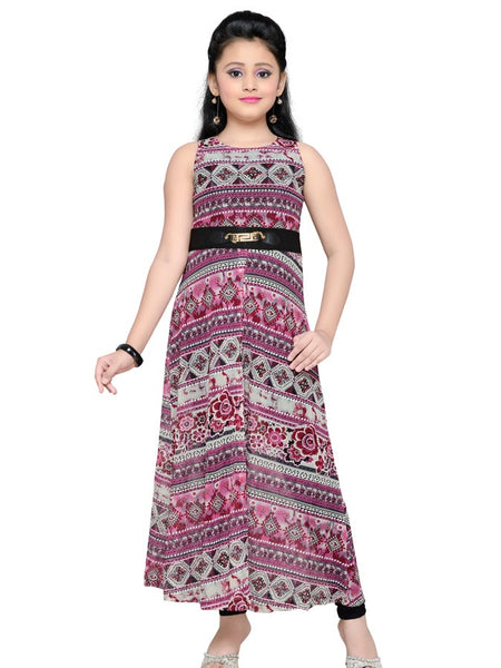 Trendy Magenta Dress - PurpleTulsi.com