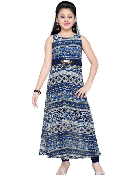 Navy Blue Dress - PurpleTulsi.com