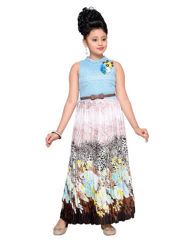 Cute Multicolor Dress - PurpleTulsi.com