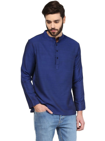 Men's Ethinc Short  BlueColor Kurta