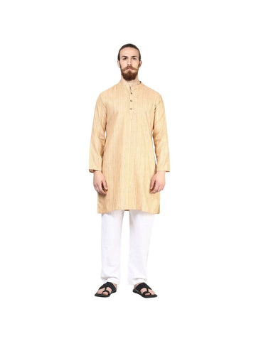 Men's Ethinc Long  BeigeColor Kurta