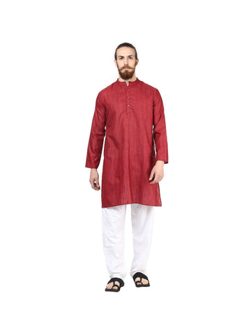 Men's Ethinc Long  MaroonColor Kurta