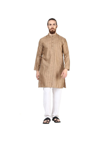 Men's Ethinc Long  BrownColor Kurta