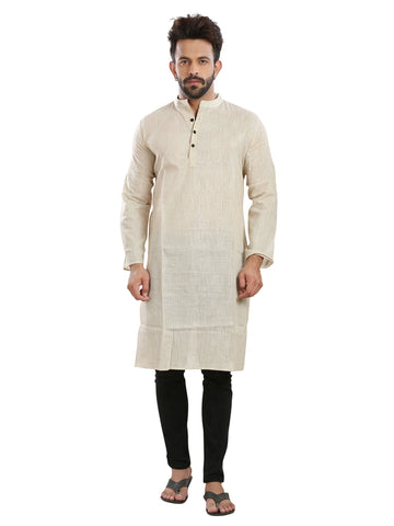 Men's Ethinc Long  Off WhiteColor Kurta