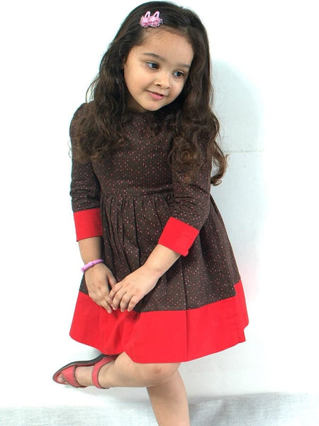 Chocoberry Dress - PurpleTulsi.com