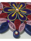 Beautifying Multicolor Quilled Wall Décor