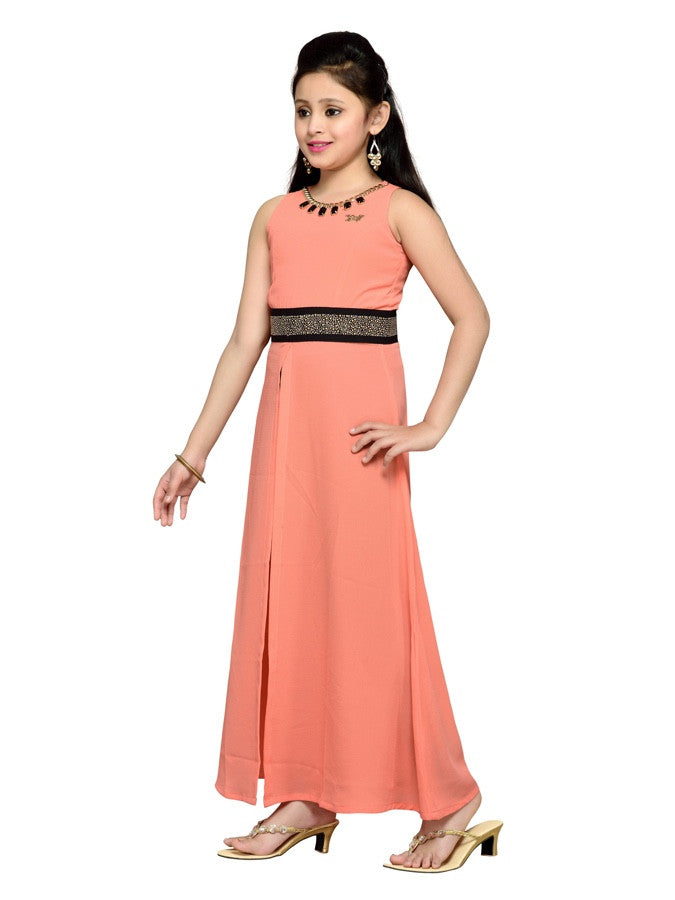 Orange and Black Dress - PurpleTulsi.com