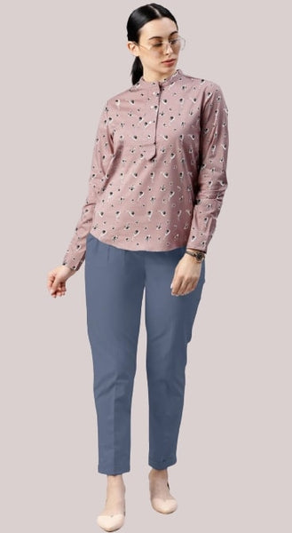 Poly Rayon Digital Printed Top with Pant