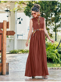 Designer and Beautiful Brown Color Gown