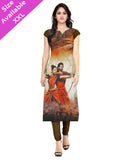 Exclusive Designer Multi A Line Kurti