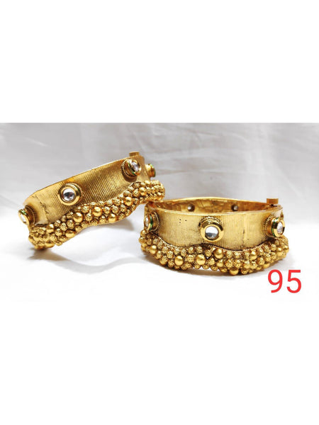 Designer and Beautiful Golden Kada