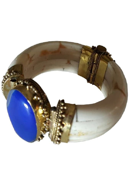 Navy Blue Kada - PurpleTulsi.com