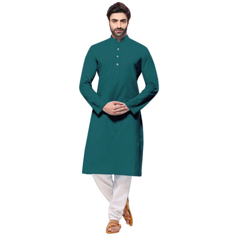 Men's Ethnic Long Kurta with Pyjama