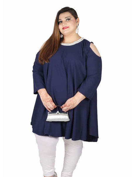Indigo Blue Plus Size Dress