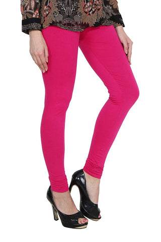 Pink cotton Lycra Leggings