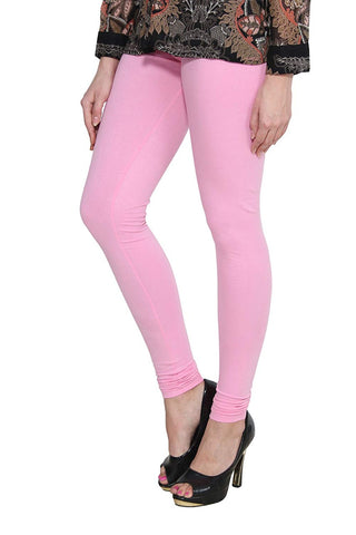 Light Pink cotton Lycra Leggings